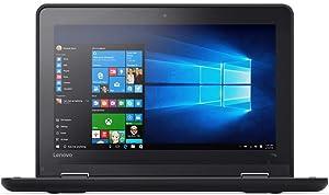 Lenovo 11.6in ThinkPad 11e Chromebook 20Du, 4 GB RAM, 16 GB SSD, Intel HD Graphics, Black (20DU0009US) (Renewed)