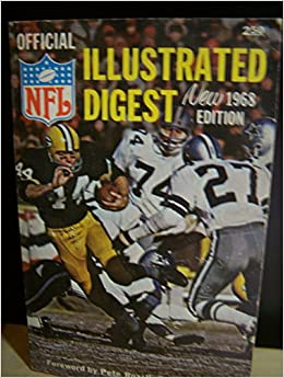 Official NFL Illustrated Digest 1968 Edition: Don Smith, Ed