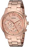 GUESS Women's Quartz Stainless Steel Casual Watch, Color:Rose Gold-Toned (Model: U1070L3)