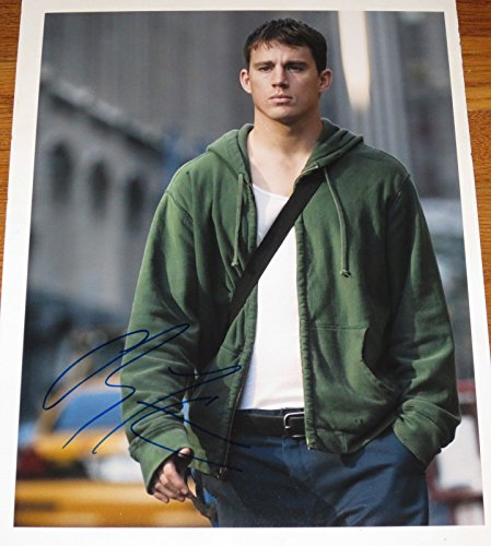 CHANNING TATUM SIGNED 11X14 PHOTO AUTOGRAPH COA SHIRTLESS GI JOE MAGIC MIKE B
