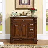 Silkroad Exclusive Bathroom Vanity HYP-0211-BB-UIC-38 Empress 38''
