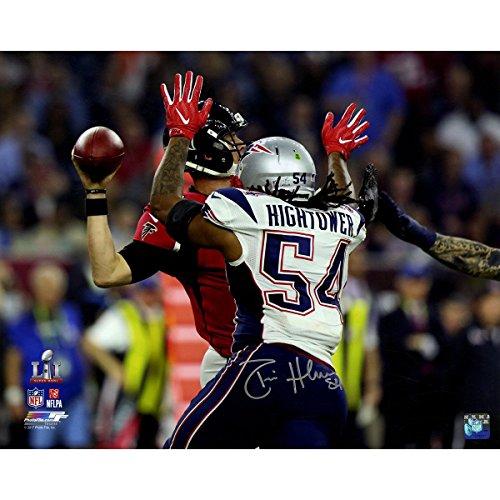 Dont'a Hightower Signed Super Bowl 51 Sack of Matt Ryan 8x10 Action Photo