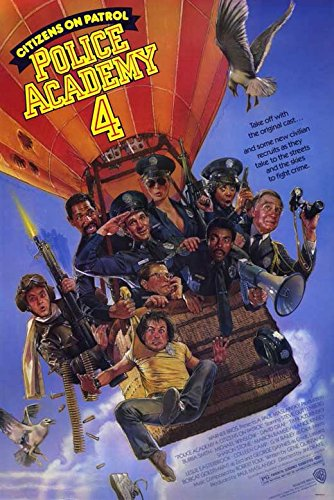 Police Academy 4 Citizens on Patrol Poster