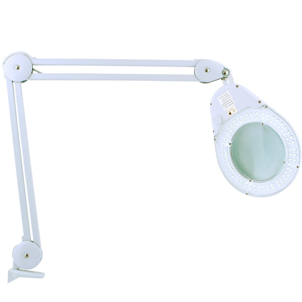 Zadro Health Solutions LED Lighted Clamp-On Magnifying Adjustable Lamp