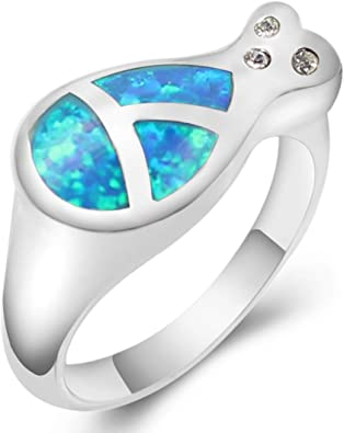 Sterling Silver Opal Ring Multi Color Flash and Fire Subtle and Elegant