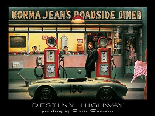 - Destiny Highway Chris Consani Movie Stars Print Poster 11x14