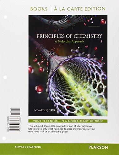Prin.Of Chemistry:Molec...(Ll) W/Access