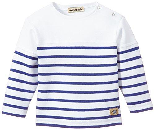 Armor Lux K7355 - Camiseta Hombre Blanc (Dw5 Blanc/Étoile)