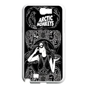 James-Bagg Phone case Arctic Monkeys Music Band Protective Case For Samsung Galaxy Note 2 Case Style-18