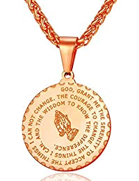 Bible Verse Prayer Necklace Free Chain Christian Jewelry...