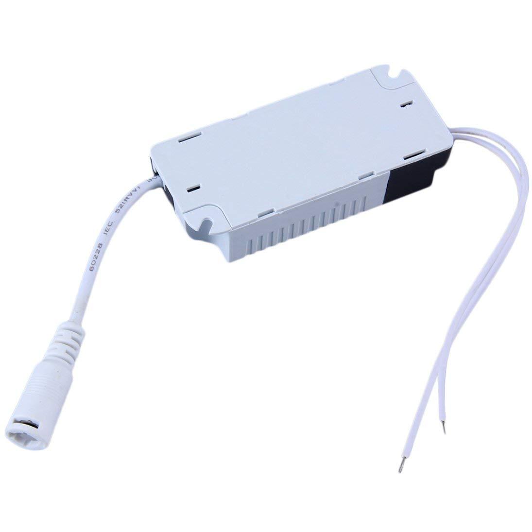 WEIHAN Alimentatore per trasformatore Driver Lampada dimmerabile a LED dimmerabile 6//9//12//15//18 21W Assicura Driver connettore Esterno CC Alimentatore a Luce di Striscia