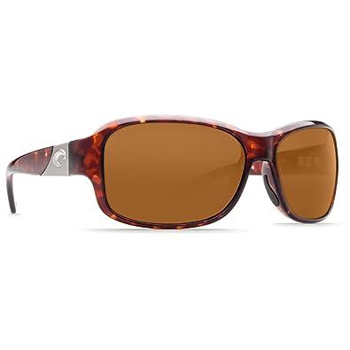 5418c5137ca7 Costa Del Mar Sunglasses - Inlet- Plastic / Frame: Tortoise Lens: Polarized  Amber