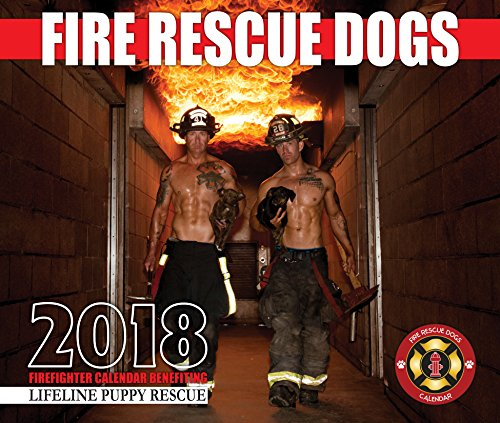 2018 Fire Rescue Dogs Calendar