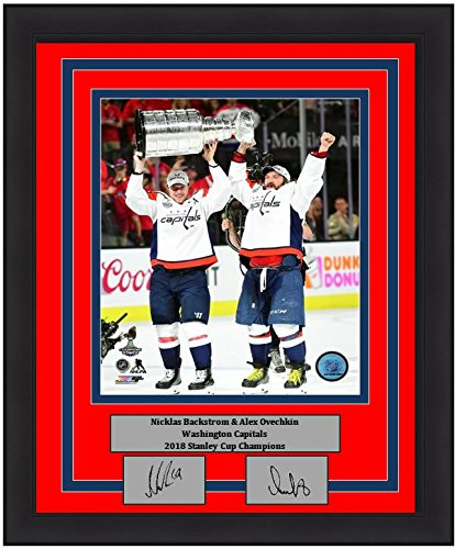 Image Unavailable. Image not available for. Color  Washington Capitals 2018  Stanley Cup Champions Alex Ovechkin   Nicklas Backstrom Engraved Autograph  ... 2664bf689