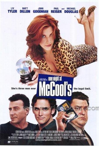 One Night at McCool's Movie Poster (27 x 40 Inches - 69cm x 102cm) (2001) -(Liv Tyler)(Matt Dillon)(Paul Reiser)(John Goodman)(Michael Douglas)(Reba McEntire)