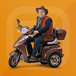 ECONELO AGM, senior móvil, triciclo eléctrico Roller, ruedas eléctrica