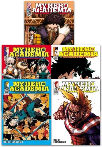 My Hero Academia Volume 11-15 Collection 5 Books Set (Series 3) ()