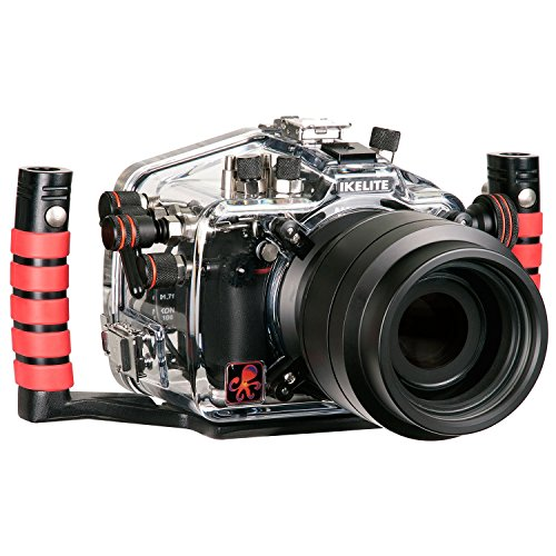 Ikelite Underwater Housing with TTL Circuitry for Nikon D7100 and D7200 DSLR Camera by Ikelite