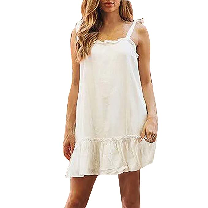 Ladies Pure Silk Lace Slip Dress Vest Strap Petticoat Nightdress Camisole V Neck
