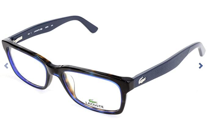 dc2003477f3 Lacoste L2672-414-52 Mens L2672 Blue Havana Eyeglasses at Amazon ...