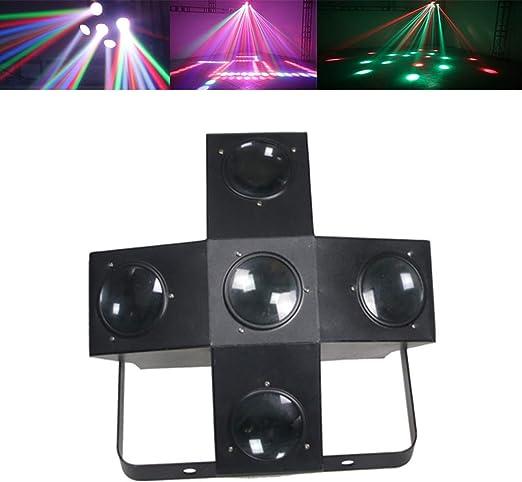 5 Colores Magia De Escenario De Luz, 400 LED del Partido del Disco ...