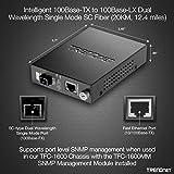TRENDnet Intelligent 100Base-TX to 100Base-FX Dual