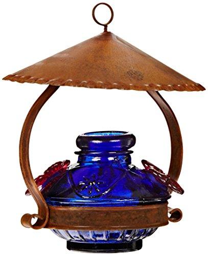 Parasol PDCSHB Pot de Creme Shelter Hummingbird Feeder Blue