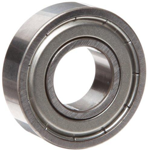 Mrc Ball Bearings - MRC R8FF Small Ball Bearing, Double Shielded, No Snap Ring, Inch, 1/2