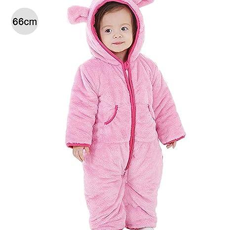 Invierno grueso algodón unisex bebé pelele chico invierno chica mono de invierno ropa exterior body traje