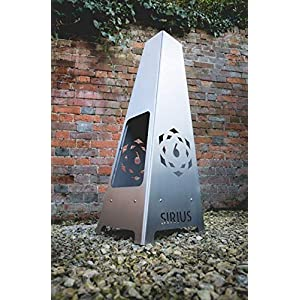 6 Elements Sirius Steel Chiminea
