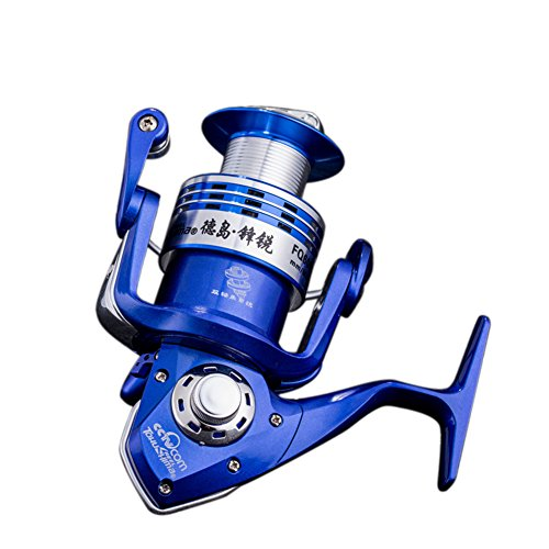 [13+1BB All-metal Saltwater Spinning Reel] FQ Professional Outdoor Sport Metal Strong Corrosion Resistance Fishing Reels Left/Right Bearing High Speed Spinning Reel Gear For Fishing Enthusiasts
