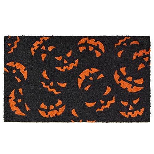 Calloway Mills Home & More 101771729 Scary Pumpkins Doormat, 17