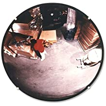 #1 Best Indoor Convex Mirror 18¨ - Large Security Mirror for Safety - Improves Visibility, Perfect for Office, Garage (parking) - Get this Convex Indoor Mirror today