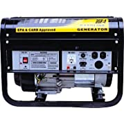 GHP 6.5 HP OHV Horizontal Shaft Engine 3.5 Gal. Gas Tank Power Generator