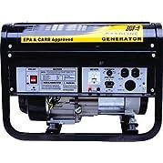 GHP 6.5 HP OHV Horizontal Shaft Engine 3.5 Gal. Gas Tank Power Generator