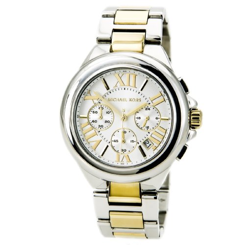 Michael Kors Women's MK5653 Camille Silver- and Gold-Tone Stainless Steel - Kors Michael Watches Gold Sale On