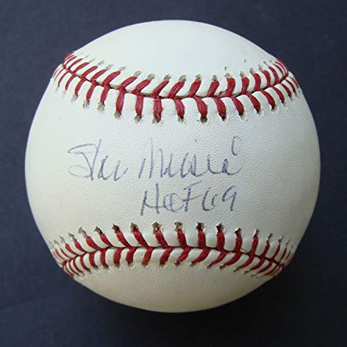 (Stan Musial Autographed Signed Baseball Autographed Signed HOF 69 PSA/DNA - Authentic Memorabilia)