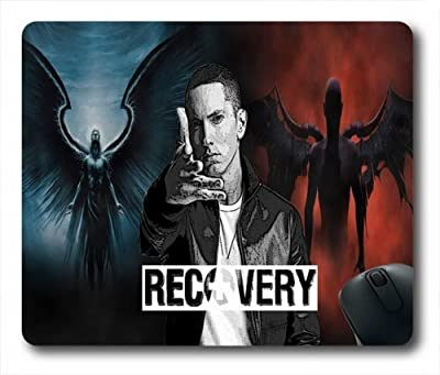 "Custom & Personalized Eminem-The Monster Mouse Pads/Mats-Picture Printed Rectangle/Oblong Mousepad in 7""*9"""