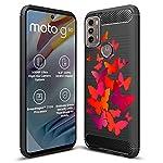 Fashionury Motorola G40 Fusion/Motorola G60 Printed Rugged Armor Designer Pouch Mobile Back Cover -HB043