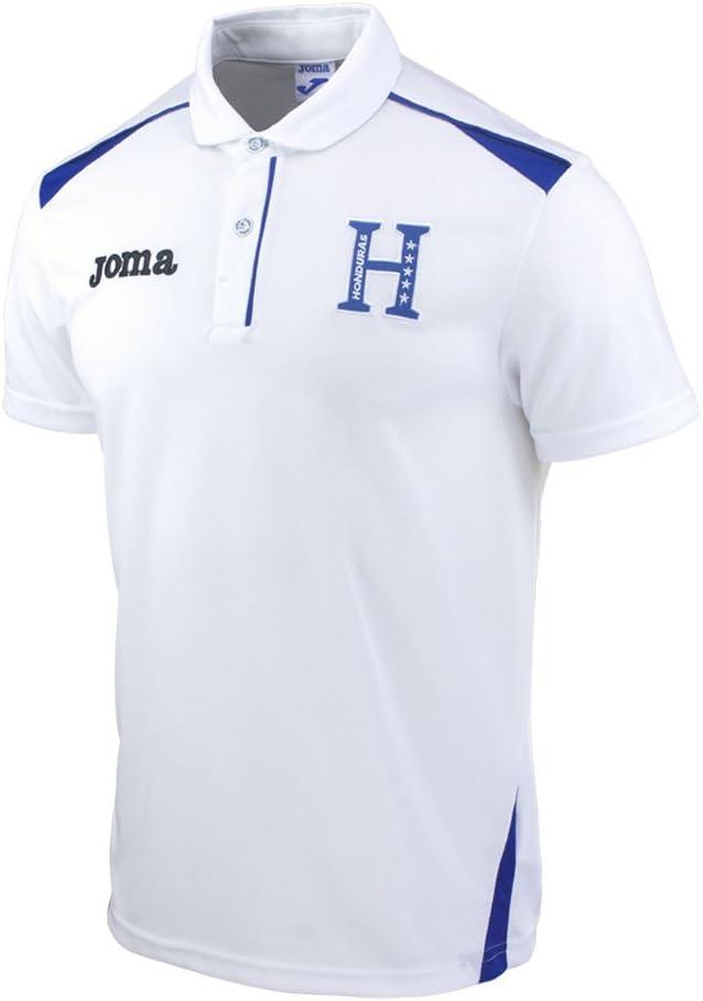 2014-15 Honduras Joma Polo Shirt (White): Amazon.es: Deportes y ...