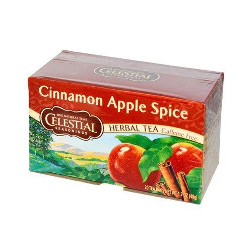 Celestial Seasonings Herb Teas Cinnamon Apple Spice 20 tea bags by Celestial Seasonings