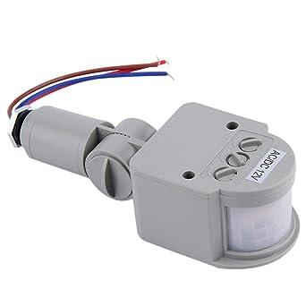 1 Unid DC / AC8V-12V Interruptor Detector de Sensor de Movimiento por Infrarrojo PIR