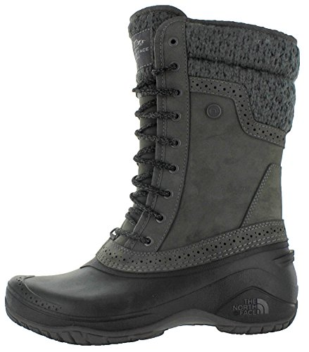 The North Face Mujer Shellista II Mid Boot Plum Kitten Grey-Phantom Grey