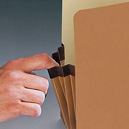 Smead File Pocket, Straight-Cut Tab, 5-1/4\