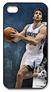 icasepersonalized Personalized Protective Case for iPhone 4/4S - NBA Minnesota Timberwolves Ricky Rubio