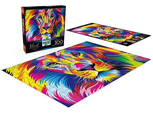 Buffalo Games The King Vivid Collection 300 Large Piece Jigsaw Puzzle
