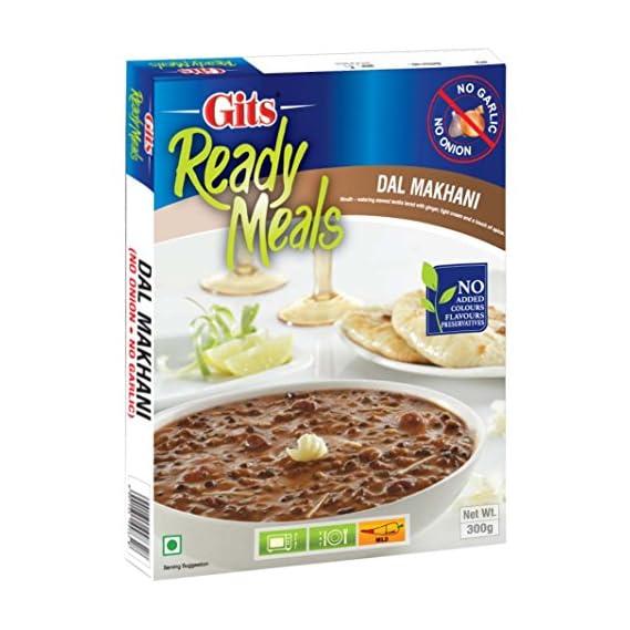 Gits Ready to Eat Dal Makhani, No Onion and Garlic, 300g