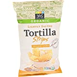 365 Everyday Value, Organic Lightly Salted Tortilla Strips, Yellow Corn, 16 Ounce