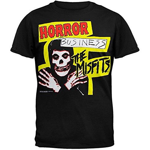 Old Glory Misfits - Mens Horror Business T-Shirt Black