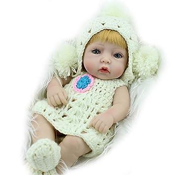 Mr.LQ Reborn bebé muñecas Chica Cuerpo Completo Vinilo recién Nacido ...